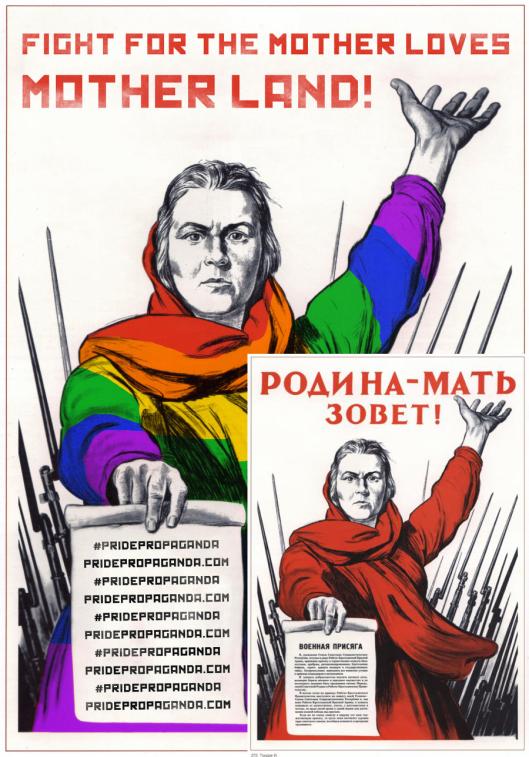 Soviet Propaganda Comparison