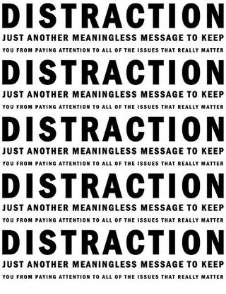 distraction by underminingme Flickr Licensed Under CC BY 2.0
